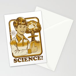 SCIENCE! Stationery Cards