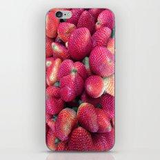 Strawberries in Paloquemao - Fresas en Paloquemao iPhone & iPod Skin