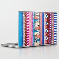 aqua Laptop & iPad Skins featuring AQUA by Vasare Nar