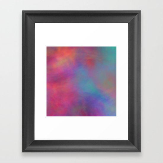 Romantic Sky Framed Art Print