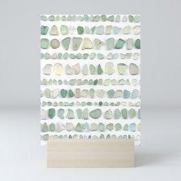 Sea glass - Stripe Mini Art Print