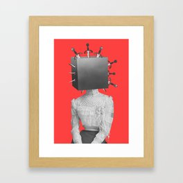 Magicians Assistant Framed Art Print
