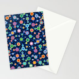 Hydrocarbons in Space Stationery Cards