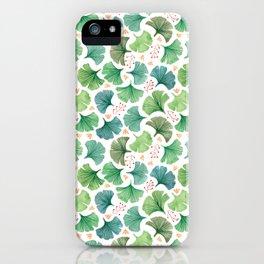 Ginkgo iPhone Case