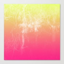 Flaming Forest Canvas Print