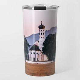 St. Coloman church Swangau Bavaria Germany Travel Mug