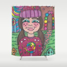 Return to Candy Land Shower Curtain
