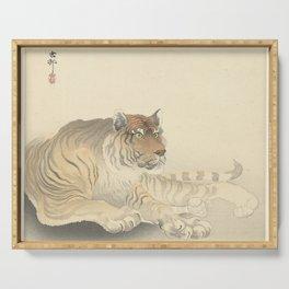 Tiger - Ohara Koson (1900 - 1930) Serving Tray