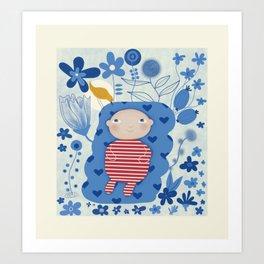 Welcome little one Art Print
