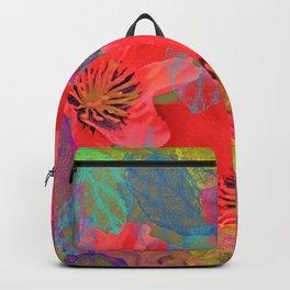 Vintage Poppies 12 Backpack