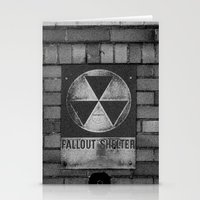fallout Stationery Cards featuring Fallout by Lia Bedell