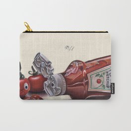 Tomato and Ketchup Carry-All Pouch