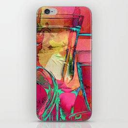 Colorful Reflections iPhone Skin