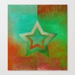 Suprematist Star IV Canvas Print