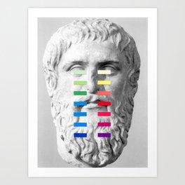 Sculpture With A Spectrum 1 Art Print