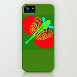 The Spectacular Flying Fish iPhone Case