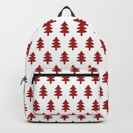 Hand drawn christmas trees Backpack