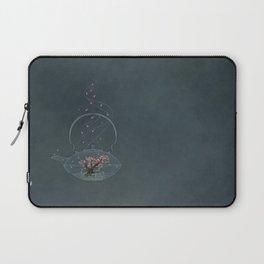 Cherry and Firefly Tea Laptop Sleeve