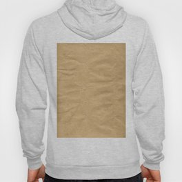 Brown Wrapping Paper Background Hoody