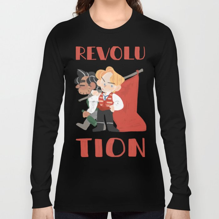 for revolution Long Sleeve T-shirt
