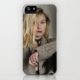 Le cœur brisé II - The broken heart II iPhone Case