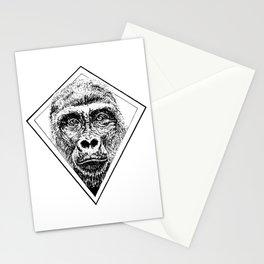 Diamond Gorilla Stationery Cards