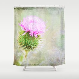 Blessed Thistle Shower Curtain