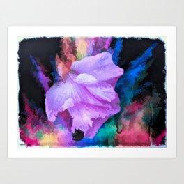 Floral Rainbow Art Print