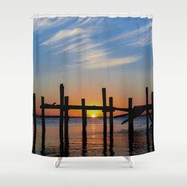 Sunset at Fernadina Beach Shower Curtain