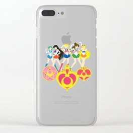 Sailor Soldiers Clear iPhone Case