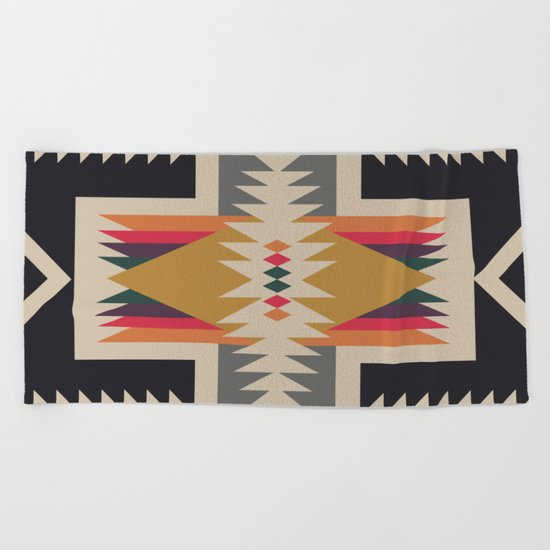Bonfire Beach Towel