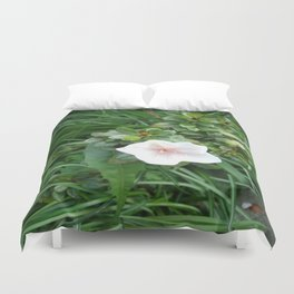 soft pink flower Duvet Cover