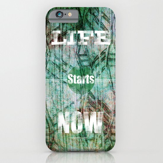 Life Starts Now iPhone & iPod Case