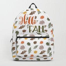 Hello Fall Backpack