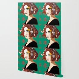 Florentine Spring girl Wallpaper