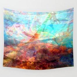 Beautiful Inspiring Underwater Scene Art Wall Tapestry