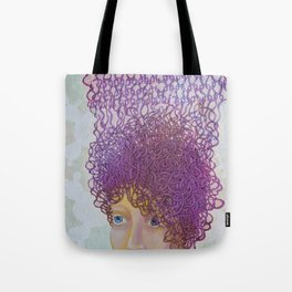 Quiet gaze Tote Bag