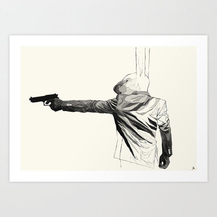Brother Lapin Art Print