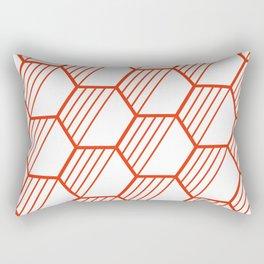 LYLA ((cherry red)) Rectangular Pillow