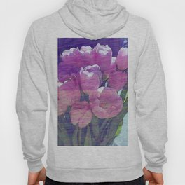 Tulips with the Blues Hoody