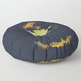 MOON CLIMBING Floor Pillow