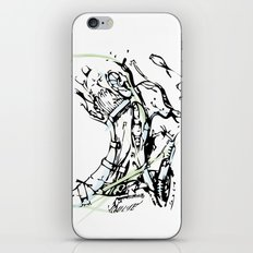 head and neck iPhone & iPod Skin
