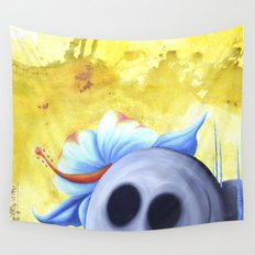 lucky stone Wall Tapestry
