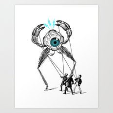 The Taming  Art Print