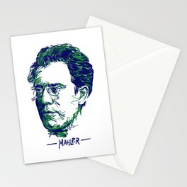 Gustav Mahler Stationery Cards