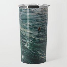 Winter Surf Travel Mug