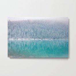 Arctic Blue Metal Print