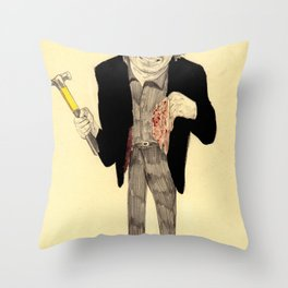 Oh Dae-su  Throw Pillow