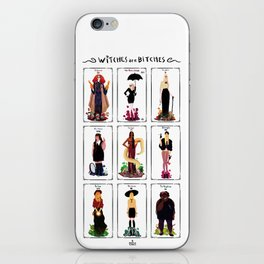 Witches are bitches  iPhone Skin