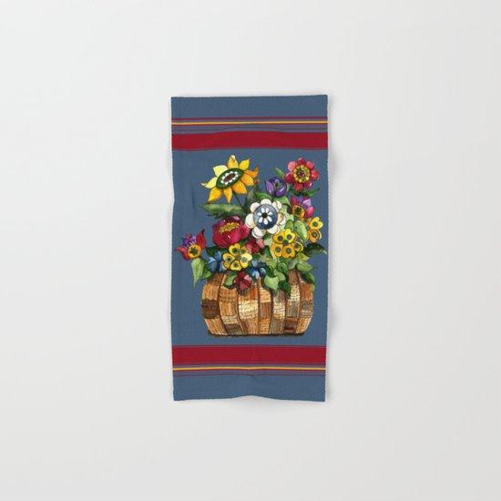 Happy Flowers Hand & Bath Towel